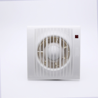 """220V 4"""" 6"""" Ventilating Exhaust Extractor Fan For Bathroom Toilet Kitchen Window Wall Mounted"""