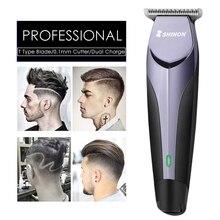 110-240 V profesional Clipper pelo Trimmer eléctrico del pelo barba  maquinilla de afeitar para hombres peluquero Calvo cabeza 0 aadcefe2823a