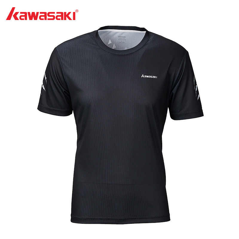 Kawasaki Badminton T-Shirt Men Quick Dry Breathable Short-Sleeve Training T-Shirts Table Tennis For Male Sportswear  ST-S1115