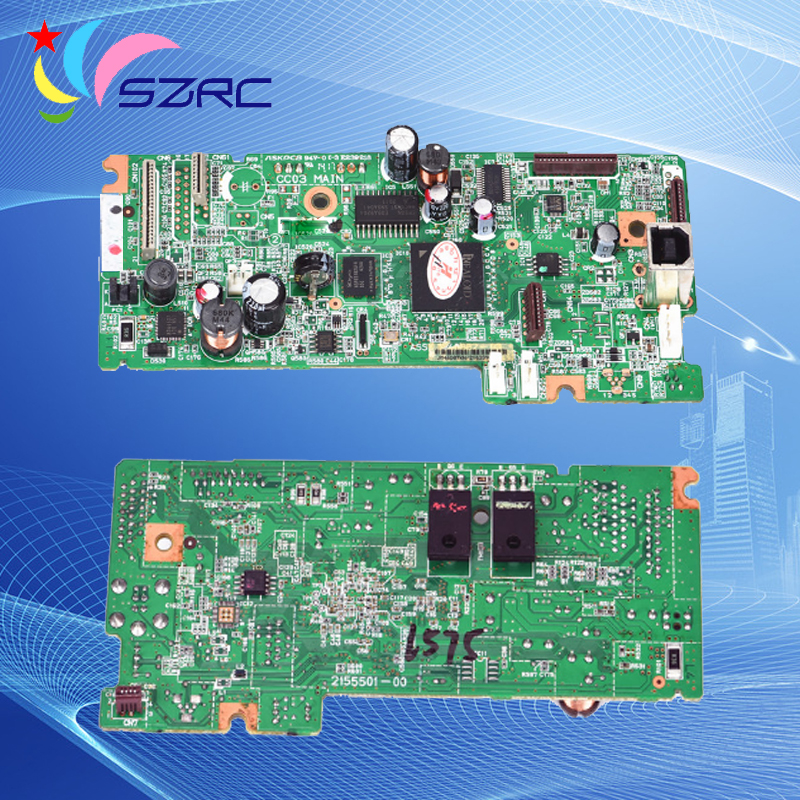 High quality Original teardown 2hand mother Board Compatible For Epson L555 L558  Main Board ( 100% Tested )