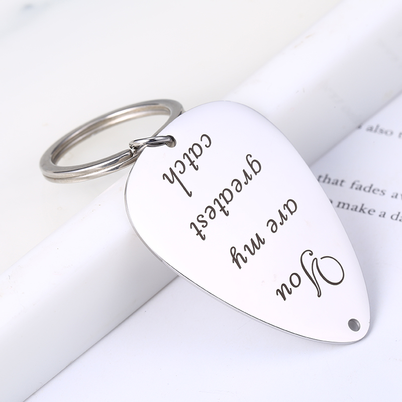 Mylongingcharm 1pc Guitar Pick Key Chain Specialized Key