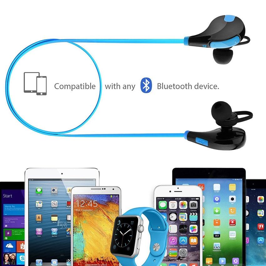Aimitek Bluetooth Earbuds Sports Headsets CSR Wireless Headphones Stereo Handsfree Earphones with MIC for iPhone Smartphones 5