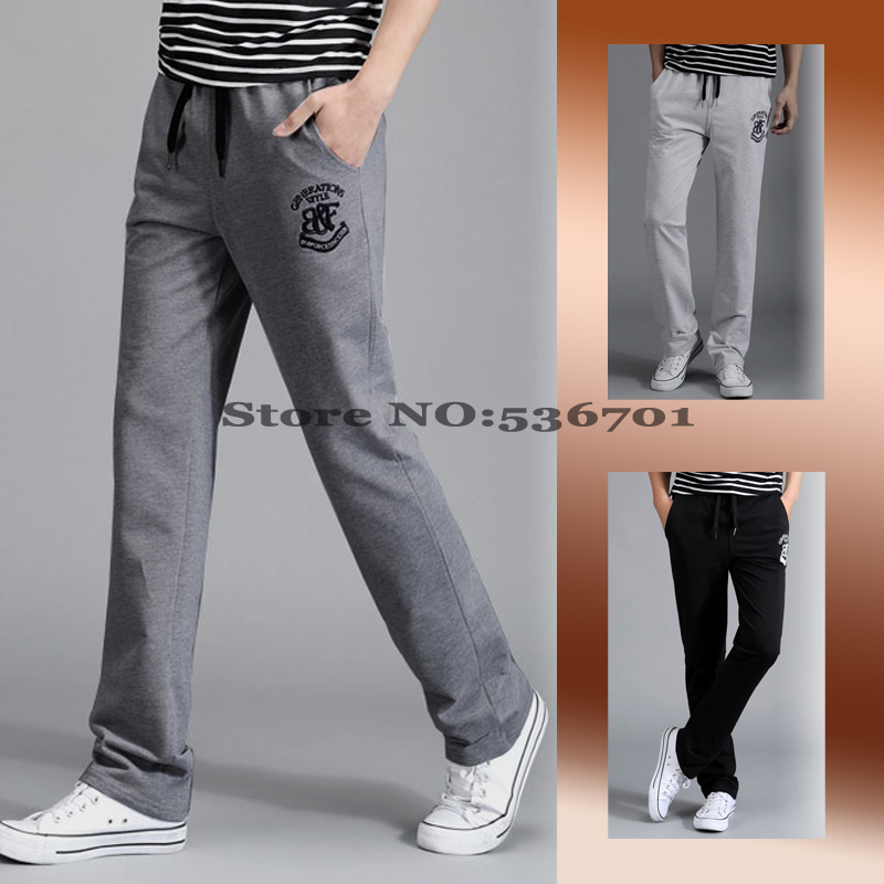 YUNY Mens Plus Size Personalized Casual Motorcycle Harem Trousers Dark Grey 34