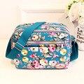 Floral Del Bolso Del Bebé Bolsa de Pañales de Diseño de Alta Calidad Bolsas de Pañales Para Mamá Tote Bolsa Maternidade Mochilas Para Mamá de Viaje