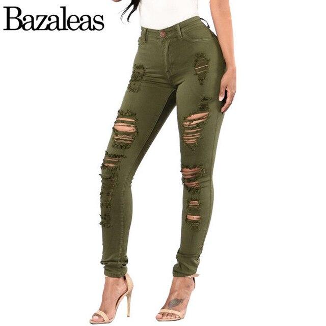 High waist jeans rot