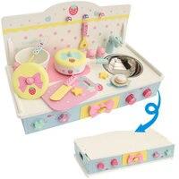 Бесплатная доставка! Новый Мать Сад моделирование Кухонные игрушки набор детей Ролевые игры Игрушечные лошадки деревянный Игрушечные лоша