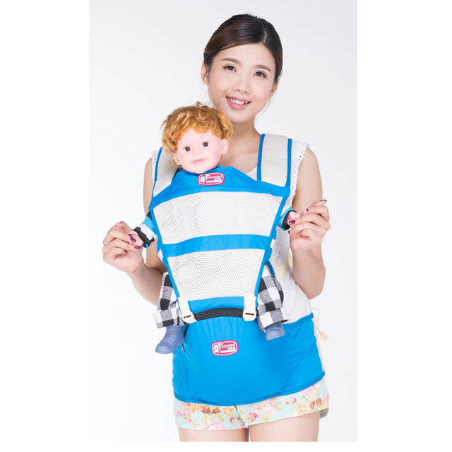 3363ea0f335 Baby Carrier Multifunction Outdoor Kangaroo Backpack New Born Baby Carriage  Hipseat Sling Wrap Summer and Winter suspenders