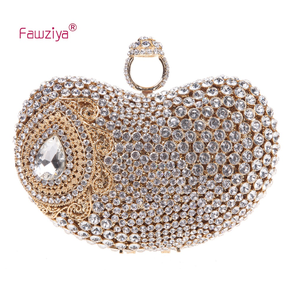 Fawziya Clutch Bag Embroidered Wedding Rings For Womens Purses And Handbags  Clearance
