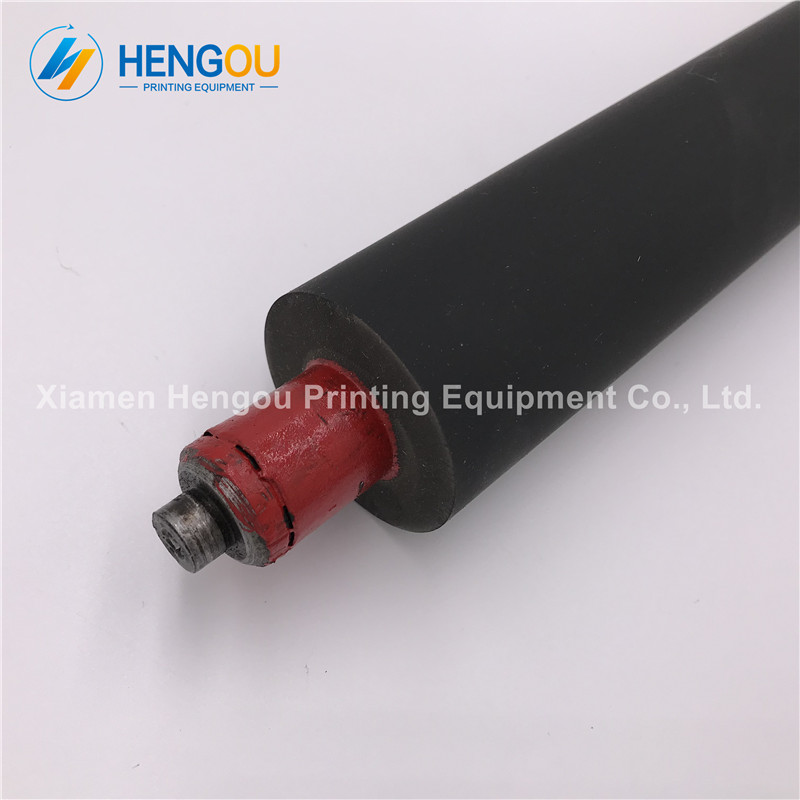 1 pcs heidelberg gto46 RED rubber rollers, roller for heidelberg GTO46 printing machinery parts 100 pieces 42 016 073 gto46 rubber sucker heidelberg free shipping gto52 rubber sucker