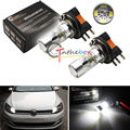2PC White H15 X-Bright 3535-SMD LED Bulb For Audi BMW Benz VW For Daytime Lights