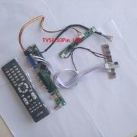kit for M240HW01 VB Controller board VGA HDMI 1920X1080 DIY CVBS LED LVDS 24 USB LCD TV AV Panel monitor 30pin