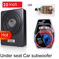 10 Inch Car Home Subwoofer Under Seat Sub Woofer 900W Car Audio Speaker Music System Sound Woofer W/ High To Low Car Amplifier