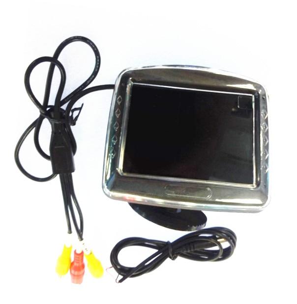3.5 Inch CCTV Monitor For Car Camera /AV Endoscope 2m clip and magnet dual purpose usb endoscope cctv monitor