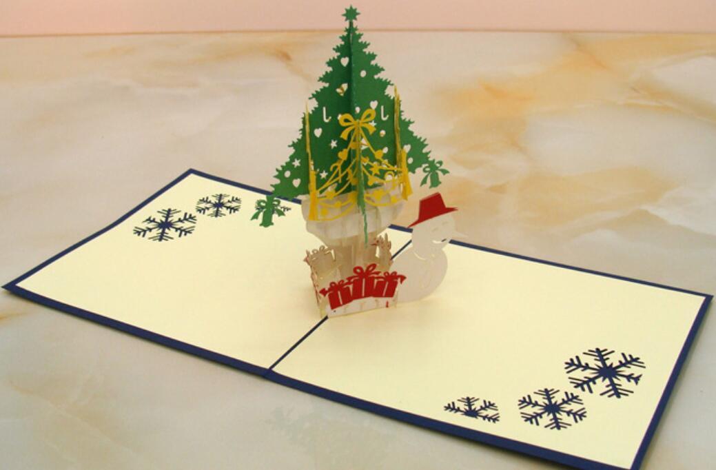 unidslote de boda d rbol de navidad de tarjetas de felicitacin del