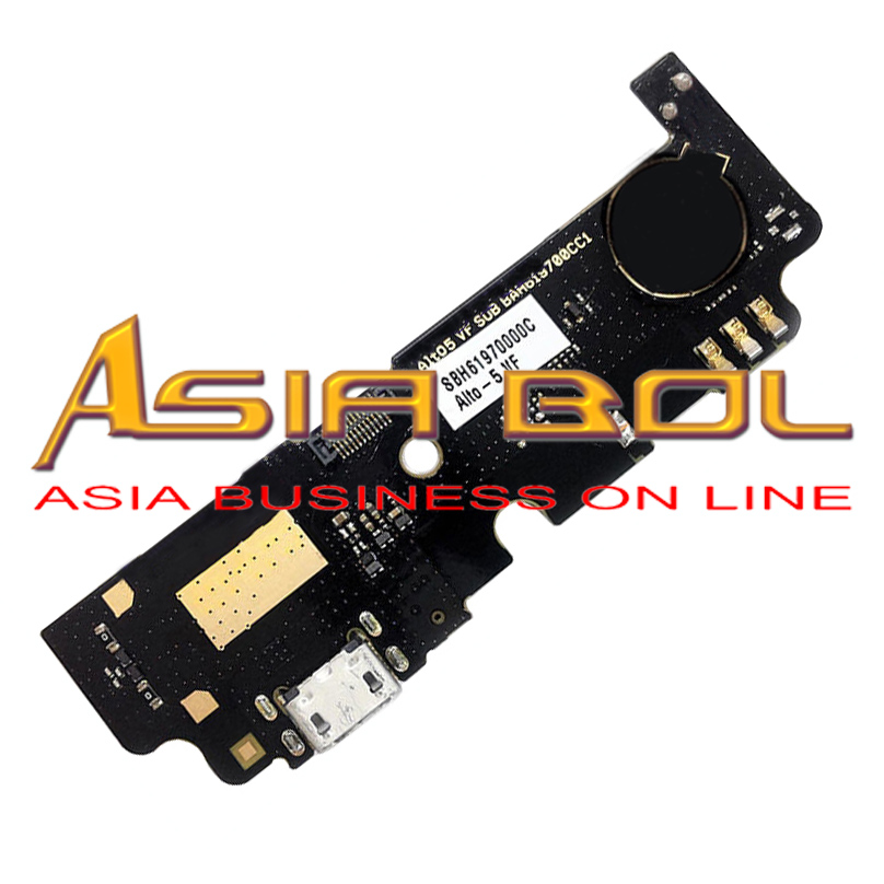 New USB Charging Mic Port Dock Flex Cable Replacement Parts For VODAFONE Smart Prime 6 VF895 VF895N