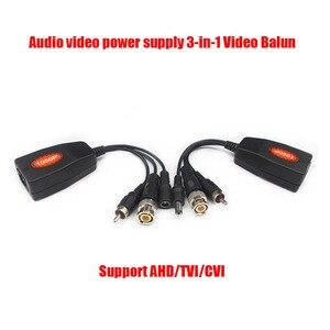 Бесплатная доставка AHD TVI CVI 1080P BNC RJ45 UTP Cat5E/6 кабель Видео Аудио питания CCTV Balun