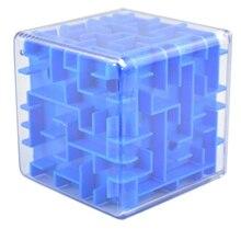 3D Куб Головоломка-Лабиринт Лабиринт Разум Логические Головоломки Игры Игрушки для Взрослых Детей