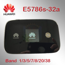 Mở khóa Huawei E5786 e5786s-32a E5786s-62a LTE Cat6 DL300Mbps 4 gam lte MiFi Di Động pocket Wifi router dongle 4 gam e5776 e5186(China)