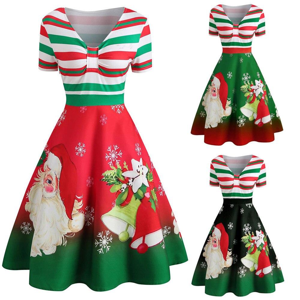 Damenmode UK womens christmas ladies xmas party swing costume ...