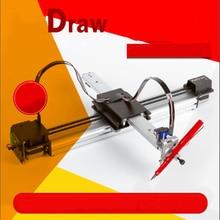 DIY Todo o Metal Drawbot Caneta Desenho Máquina Lettering Kit Robô Robô Corexy XY-plotter CNC Desenhar Escrita Brinquedos Robô