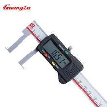 Cheapest prices GUANGLU Inside groove 22-150mm Digital Caliper Stainless Steel Digital Vernier Caliper Electronic Gauge Tools Micrometer Ruler