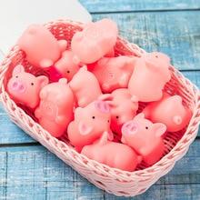 1 шт., розовая свинья, мягкие кавайные животные, медленно поднимающиеся, мягкие игрушки для детей, антистрессовые розыгрыши, игрушки для сдавливания