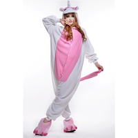 2016 Winter Pink Unicorn Tracksuit Pajamas Cartoon Costume Onesies Pajamas Combinaison Pijama mujer pajamas woman