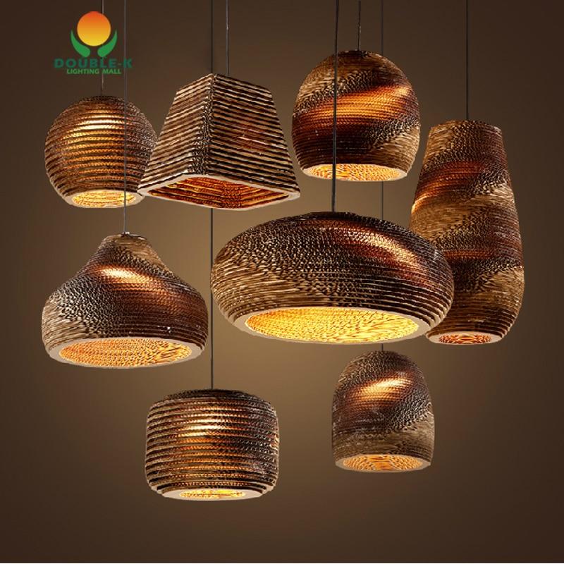 Honeycomb Pendant Light: Vintage Rural Paper Honeycomb Pendant Lamp Bra Pendant