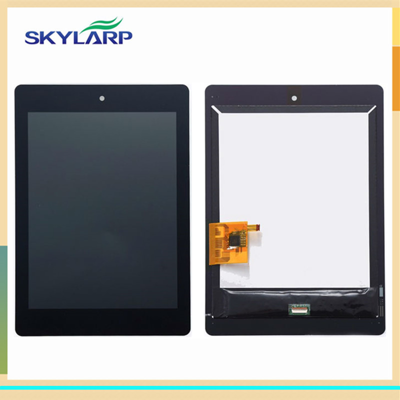 7.9 inch LCD screen For Acer iconia tab A1-810 A1-811 Display panel with Touch Screen Digitizer Glass Assembly Replacement new 7 9 inch black touch screen for acer iconia tab a1 a1 810 a1 811 tablet digitizer sensor replacement free shipping