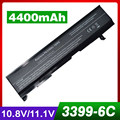 4400mAh laptop battery for TOSHIBA Satellite A100 A80 A105 PA3399U PA3399 PA3399U-1BAS PA3399U-1BAS PA3399U-1BRS PA3399U-2BAS