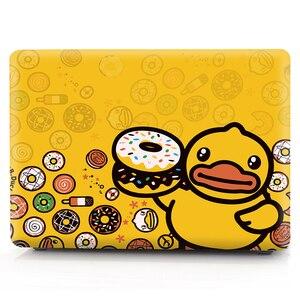 Image 2 - Ente farbe druck notebook fall für Macbook Air 11 13 Pro Retina 12 13 15 zoll Farben Mit Touch Bar neue Air 13 Pro 13 15