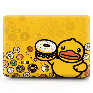Image 2 - duck color printing notebook case for Macbook Air 11 13 Pro Retina 12 13 15 inch Colors With Touch Bar New Air 13 Pro 13 15