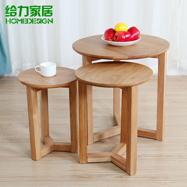 Brilliant Us 518 0 Small Coffee Table Solid Wood Side A Few Corner A Few Ikea Creative Nordic Small Apartment Living Room Oak Furniture Specials In Garden Cjindustries Chair Design For Home Cjindustriesco