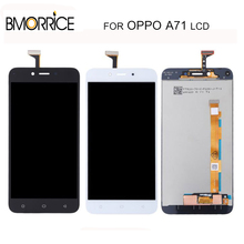TFT No Frame LCD Display For OPPO A71 IPS LCD Touch Screen Screen Digitizer Full Assembly Replacement Black White 5.2