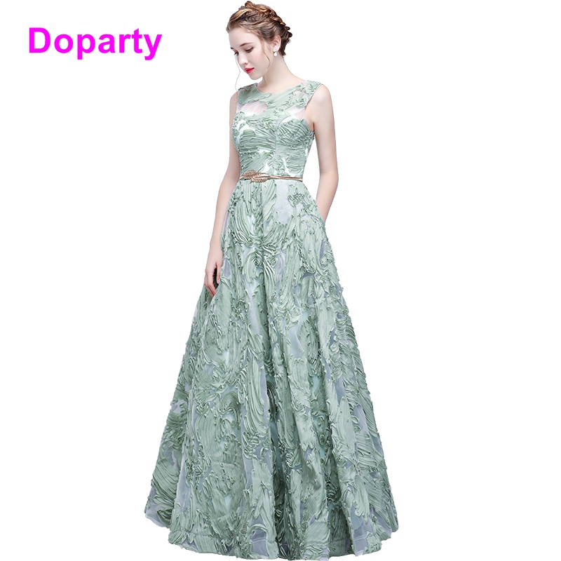 Doparty gril formal dress women Elegant women long engagement mother daughter tulle gown evening prom dresses 2018 for women