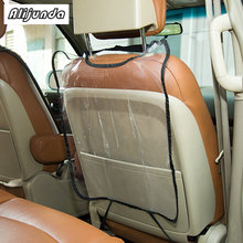 เด็กรถที่นั่งกลับ protector เบาะ play mat สำหรับ Mercedes-Benz all class B C E S G M ML CL CLK CLS GL GLK R SL(China)