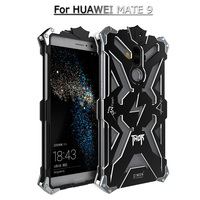 Simon Thor IRON MAN Coque Frame Anti Knock Aviation Aluminum Luxury Metal Phone Cases For For