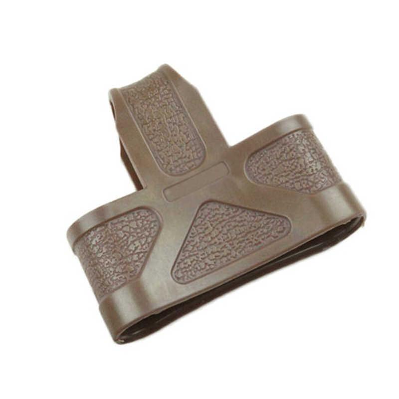 Тактический 5,56 НАТО клетка крепежный элемент для магазина резиновые петли для Страйкбольное ружье M4/16 журнал помочь подсумок армии аксессуаров