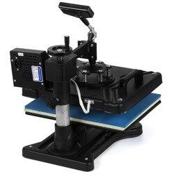 Heat Press 5in1 Combo T-Shirt Mug Cap Plate Sublimation Transfer Printer vevor