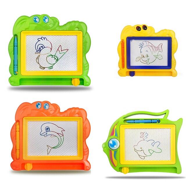 Nuevos niños escritura Doodle pintura plantilla magnética Pizarras ...