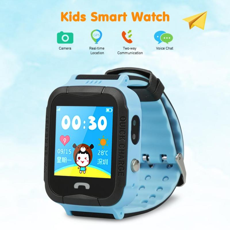 Children's GPS Smart Watch Positioning Location Remote Monitor Camera Wristwatch Super Power-saving Technology relogio English E smart baby watch q60s детские часы с gps голубые