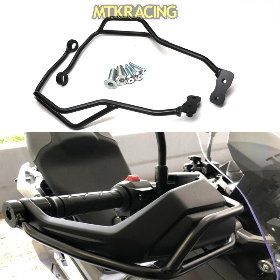 MTKRACING Acier Gauche Droite Moto Police Poignée Bar Main Garde Pare-chocs Cadre Protecteur pour 2017-2018 Honda X- adv X ADV 750