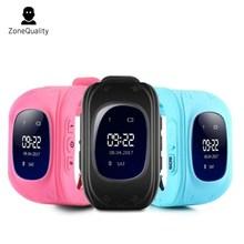 ZoneQuality Q50 Relógio Inteligente Anti perdido SOS Seguro Crianças Relógios Com GPS E Com UM Cartão Sim Em Russo Q50 GPS Garoto Esperto