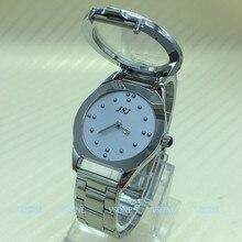 Dotykowy zegarek braillea dla osób niewidomych lub osób starszych szara tarcza (dla mężczyzny)