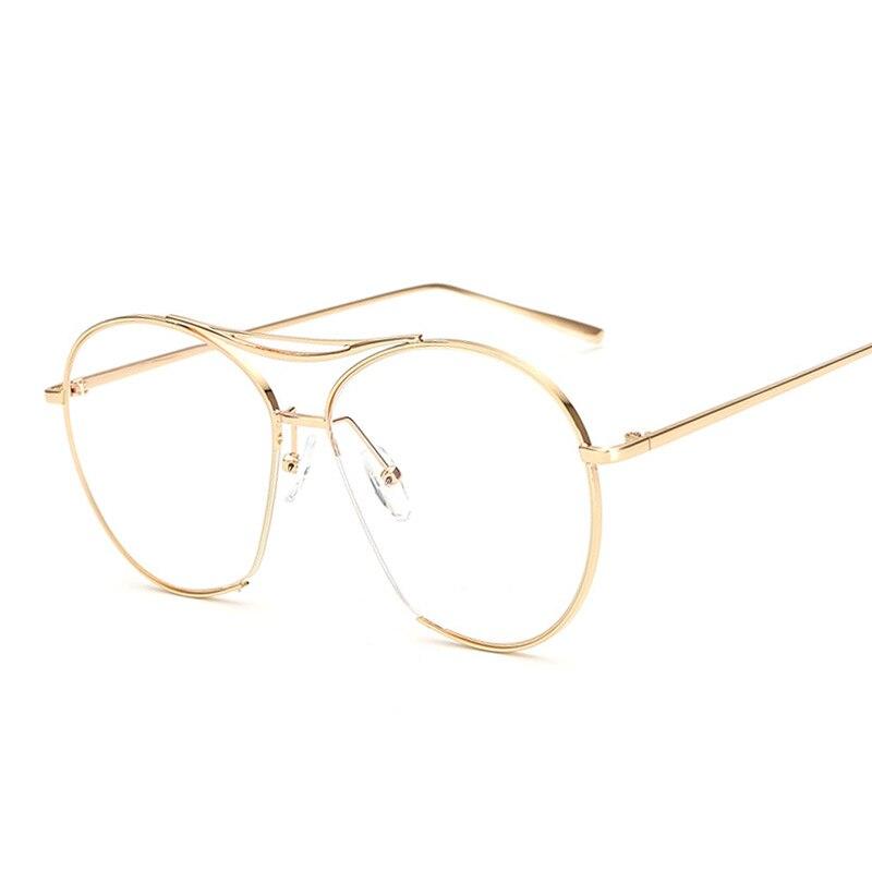 Optical Glasses Accessories : JUSTRUE Fashion Transparent Glasses Flat Lens Brand ...