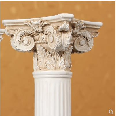 Europeo retro colonna Romana modello di artigianato, accessori per la casa creative, arredi in resina, oggetti di scena di ripresa-in Statuine e miniature da Casa e giardino su  Gruppo 2