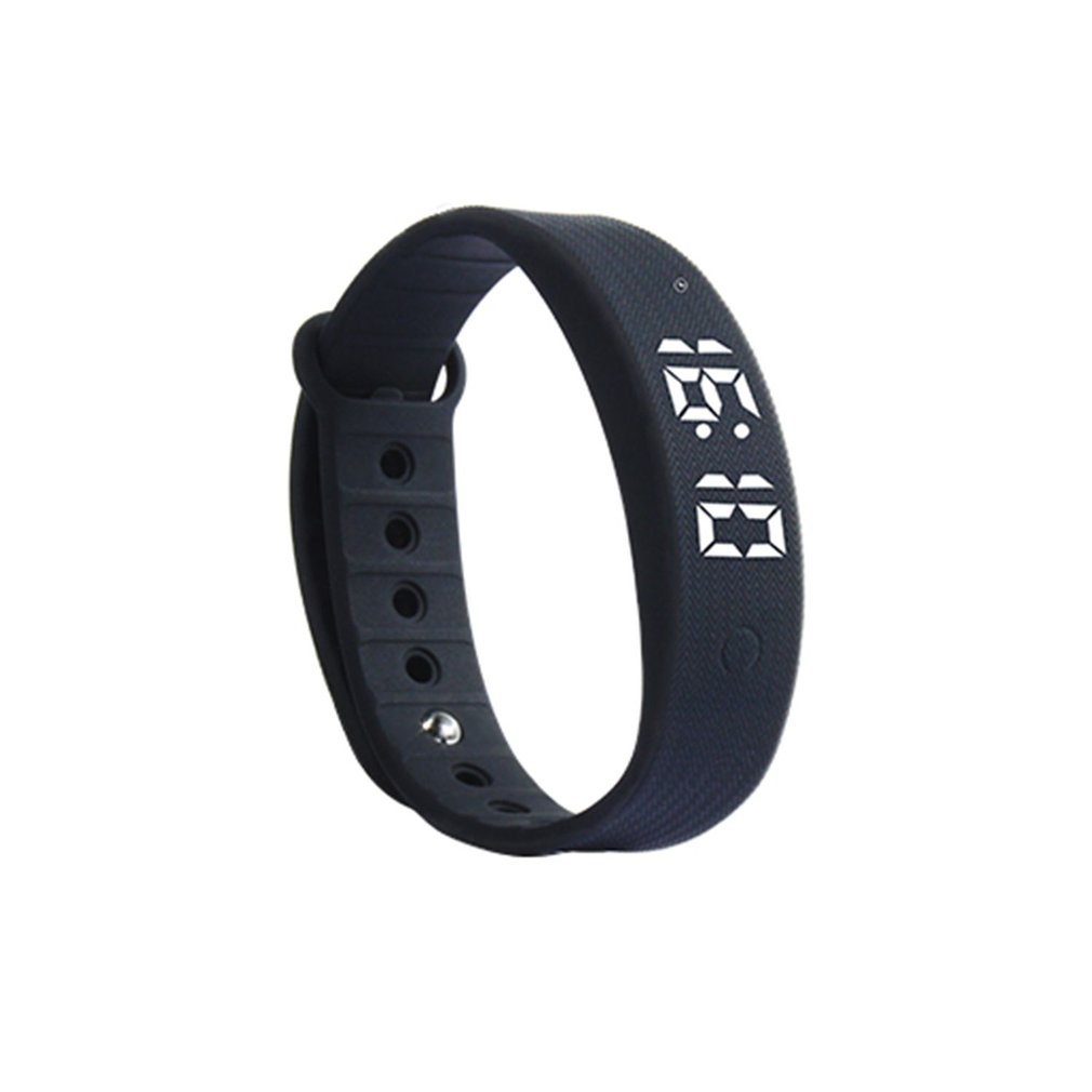 2018 Sales W5S Smart Band LED Display Sleeping Monitor Pedometer Bracelet Alarm Clock Waterproof Sports Wristband