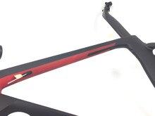 Preto vermelho s5 completo carbono quadro de bicicleta estrada mais 16 cores quadro de carbono 48 52 54 56 58cm