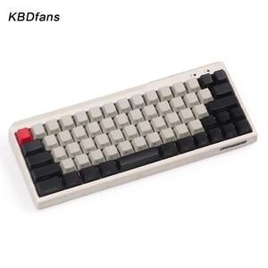 Image 3 - Black PBT blank white gray mechanical keyboard filco minila air thick PBT white side print keycap cherry mx OEM blac 3u sapcebar