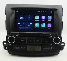 Quad core 1024*600 HD de pantalla Android 7.1 Navegación Del Coche DVD GPS para Mitsubishi Outlander Citroen C-crosser Peugeot 4007